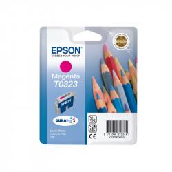 "EPSON Cartouche ""crayons"" T0323 Encre DURABrite Ultra Magenta 16ml"