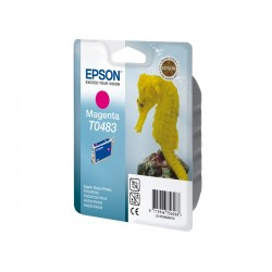 "EPSON Cartouche ""Hippocampe"" T0483 Encre QuickDry Magenta 13ml"