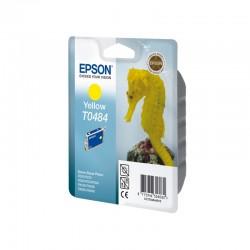 "EPSON Cartouche ""Hippocampe"" T0484 Encre QuickDry Jaune 13ml"