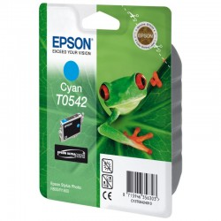 "EPSON Cartouche ""Grenouille"" T0542 Encre UltraChrome Hi-Gloss Cyan 13ml"