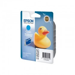 "EPSON Cartouche ""Canard"" T0552 Encre QuickDry Cyan 8ml"
