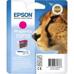 "EPSON Cartouche ""Guépard"" T0713 Encre DURABrite Ultra Magenta 5,5ml"