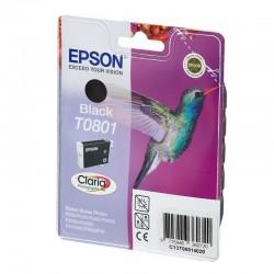 "EPSON Cartouche ""Colibri"" T0801 Encre Claria Noir 7,4ml"