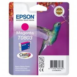 """EPSON Cartouche """"Colibri"""" T0803 Encre Claria Magenta 7,4ml"""