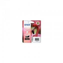 """EPSON Cartouche """"Flamand Rose"""" T0870 Optimiseur de Brillance 22,8ml"""