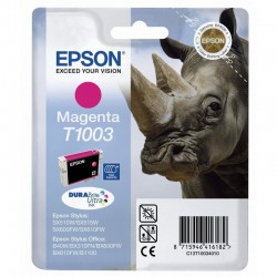 "EPSON Cartouche ""Rhinocéros"" T1003 Encre DURABrite Ultra Magenta HC 11,1ml"