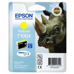 "EPSON Cartouche ""Rhinocéros"" T1004 Encre DURABrite Ultra Jaune HC 11,1ml"
