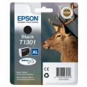 "EPSON Cartouche ""Cerf"" T1301 Encre DURABrite Ultra Noir XL 25,4ml"