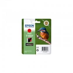 "EPSON Cartouche ""Martin-pêcheur"" T1597 Encre Ultrachr Hi-Gloss2 R 17ml"