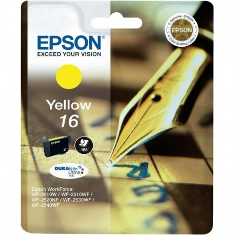 Epson cartouche stylo a plume jaune