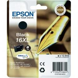 "EPSON Cartouche ""Stylo à plume"" 16XL Encre Durabrite Noir XL 12,9ml"