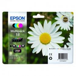 "EPSON Multipack ""Pâquerette"" 18 Encres Claria Home N,C,M,J 15,1ml"