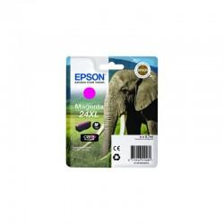 """EPSON Cartouche """"Eléphant"""" 24XL Encre Claria Photo HD Magenta 8,7ml"""