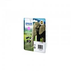 """EPSON Cartouche """"Eléphant""""24XL Encre Claria Photo HD M clair 9,8ml"""