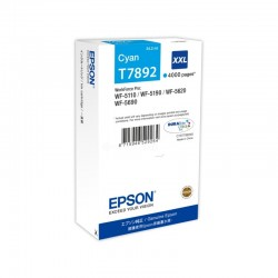 EPSON Cartouche encre T7892 Cyan XXL 4 000 pages