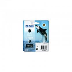 EPSON Cartouche Orque T7608 encre Noir Mat 25,9ml