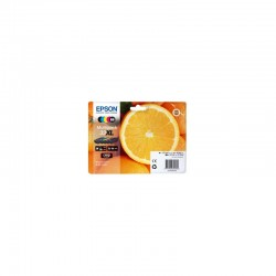 EPSON Multipack Oranges 33XL encres N,NP,C,M,J 47ml