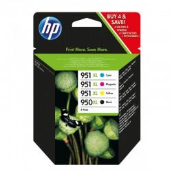 HP 950XL/951XL Pack cartouches noir cyan magenta jaune