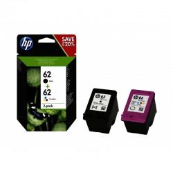 HP 62 Pack de 2 cartouches - N9J71AE
