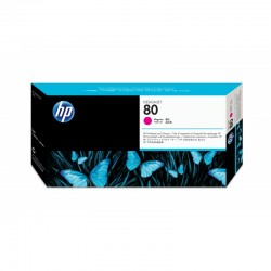 HP Tête d'impression 80 Magenta+dispositif nettoyage 17ml