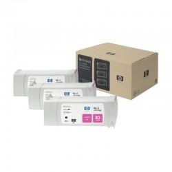 HP Pack de 3 cartouches encre 83 Magenta 680ml