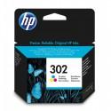 HP 302 Cartouche d'encre Trois couleurs (Cyan,Magenta,Jaune) authentique (F6U65AE)