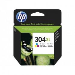 HP 304XL Cartouche Trois couleurs (Cyan,Magenta,Jaune) authentique grande capacité (N9K07AE)