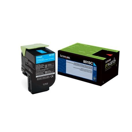 LEXMARK 80C2SC0 Toner Cyan 802SC pour CX310, CX410, CX510.jpg