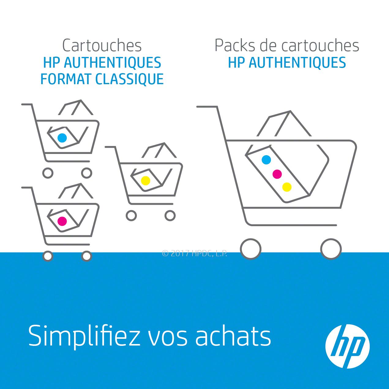 HP 903XL pack de 4 cartouches