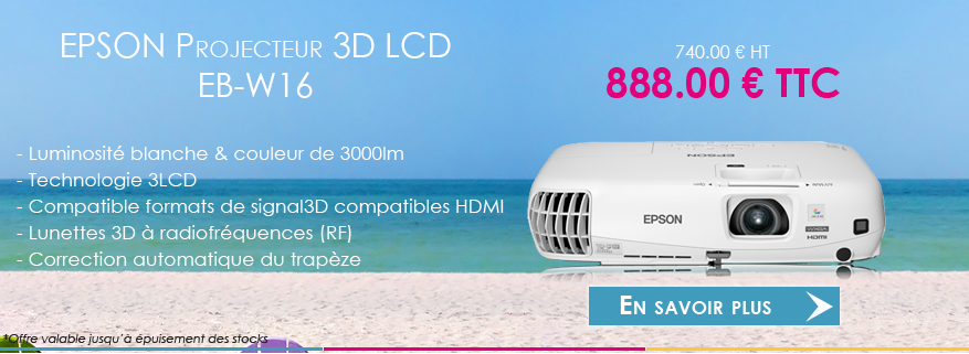 EPSON vidéoprojecteur EB-W16